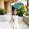 Baby Chenxi Dress Burgundy 1