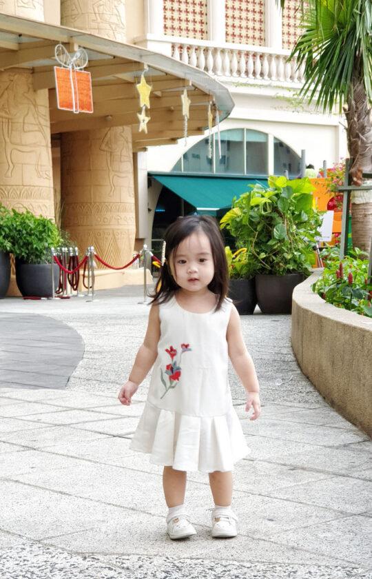 Baby Chenxi Dress White 3