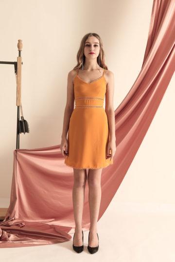 THL Dress Mustard 10