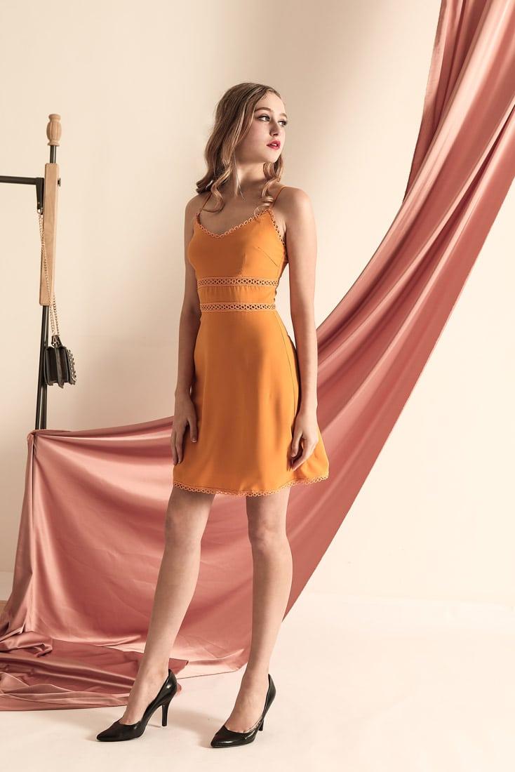 THL Dress Mustard 6