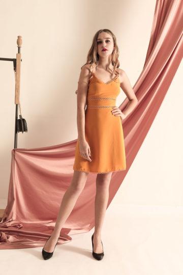 THL Dress Mustard 12