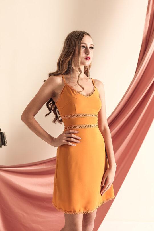 THL Dress Mustard 3