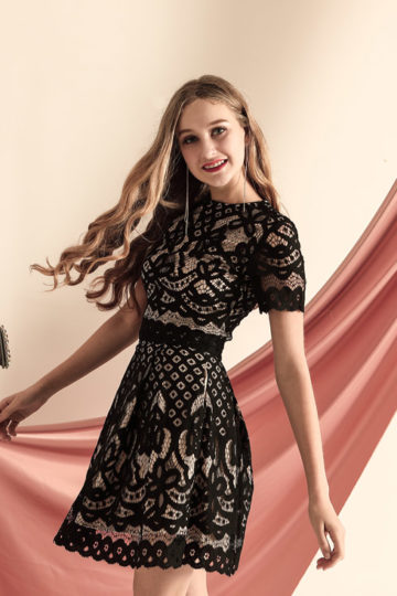 Lover Lace Top Black 11