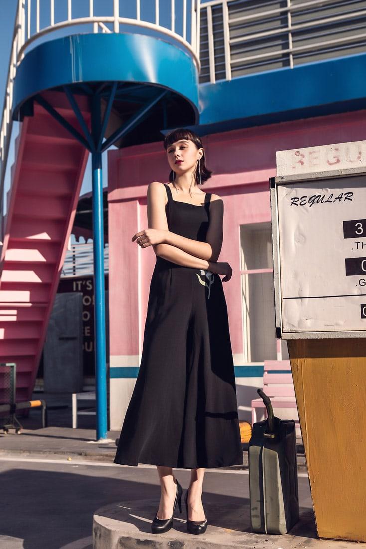 Alina Playsuit Black 6