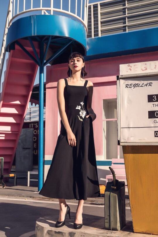 Alina Playsuit Black 3