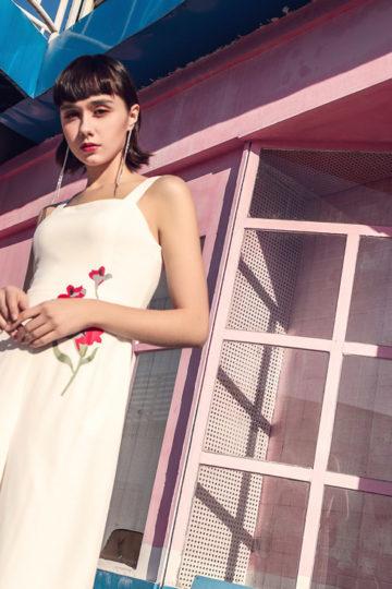 Alina Playsuit White 9