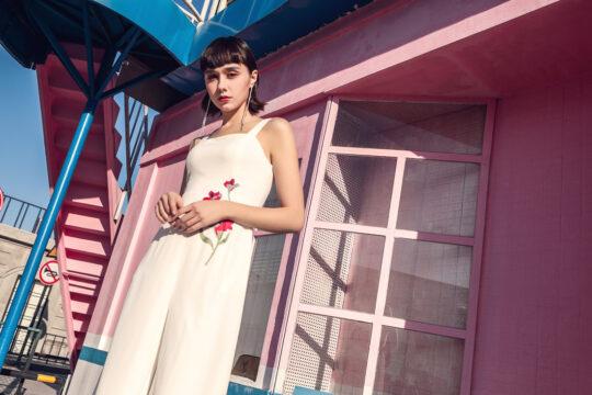 Alina Playsuit White 4