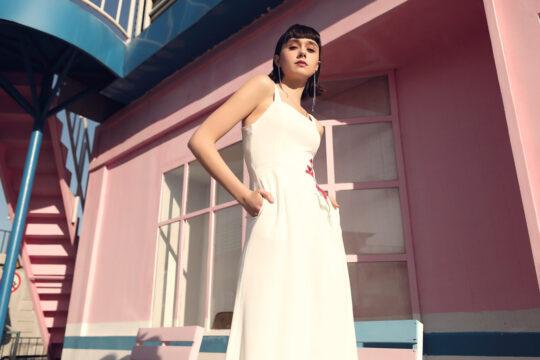 Alina Playsuit White 5