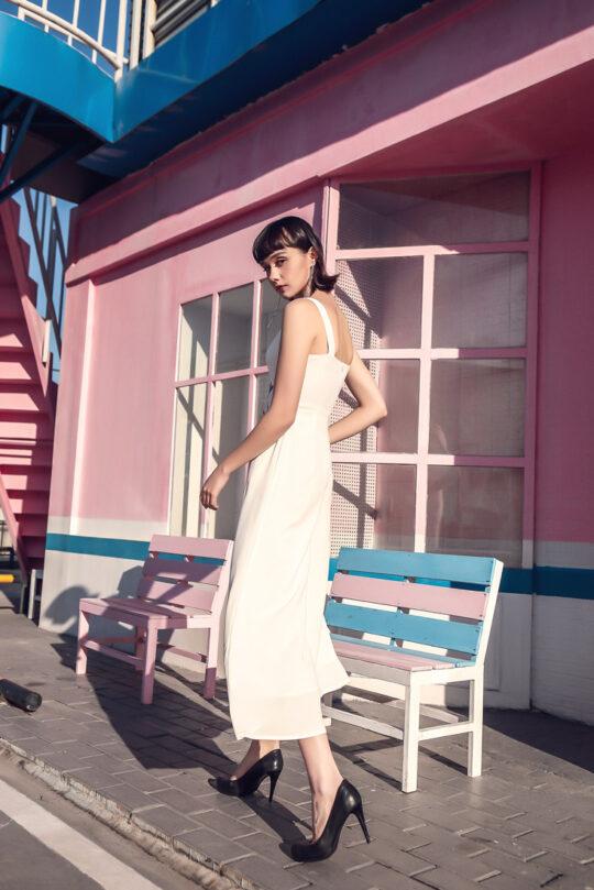 Alina Playsuit White 6