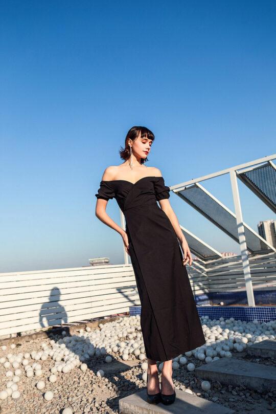 Shu Dress Black 3