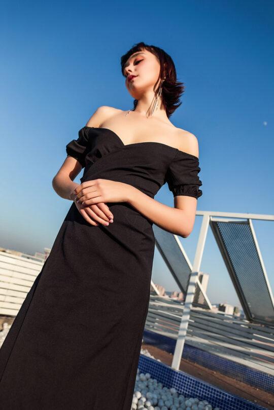 Shu Dress Black 7
