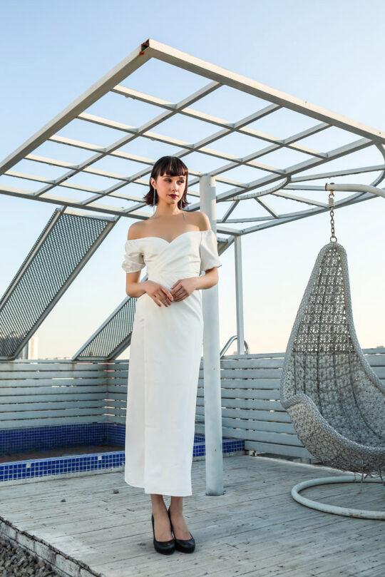 Shu Dress White 3