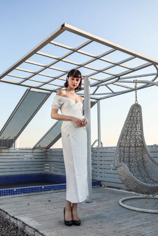 Shu Dress White 5