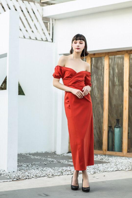 Shu Dress Red 3