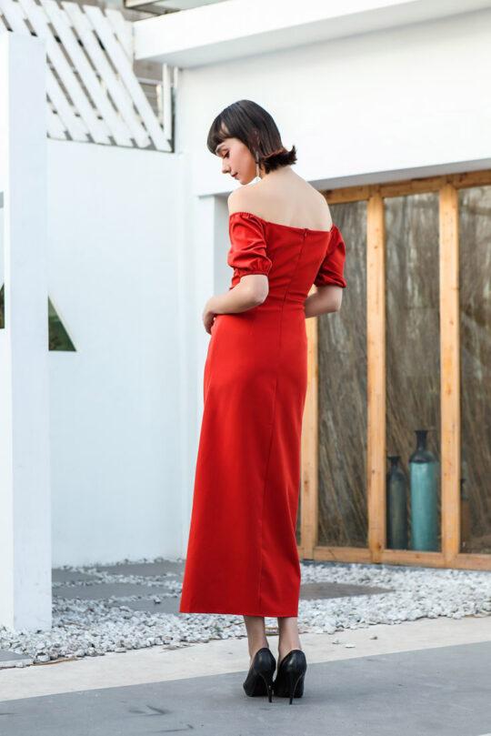 Shu Dress Red 4