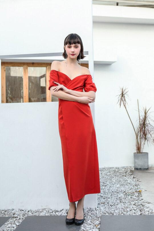 Shu Dress Red 5