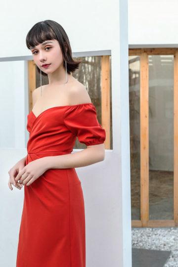 Shu Dress Red 9