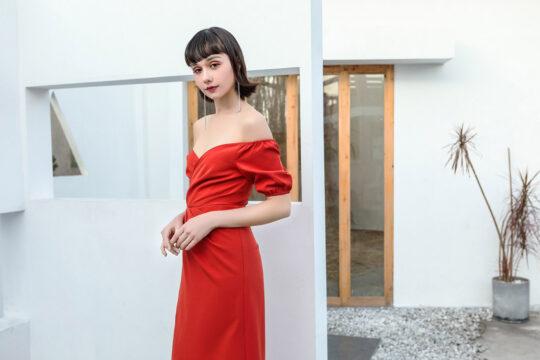 Shu Dress Red 6