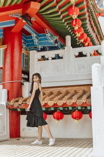 Phoenix Midi Dress Black 8