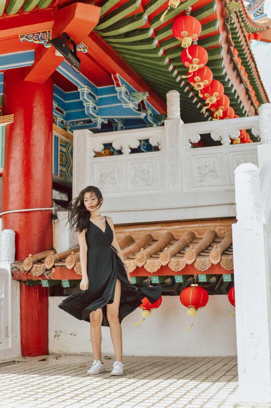 Phoenix Midi Dress Black 6