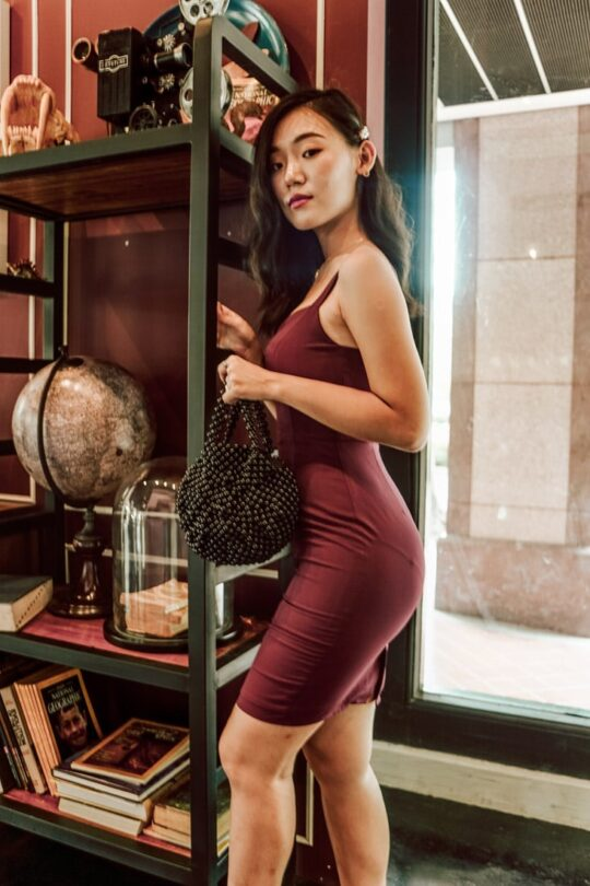 Lookbook in Burgundy 4