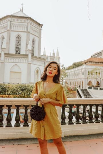 Zira Dress Mustard 12