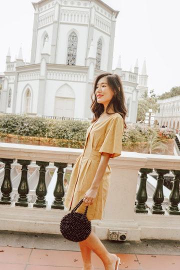Zira Dress Mustard 10