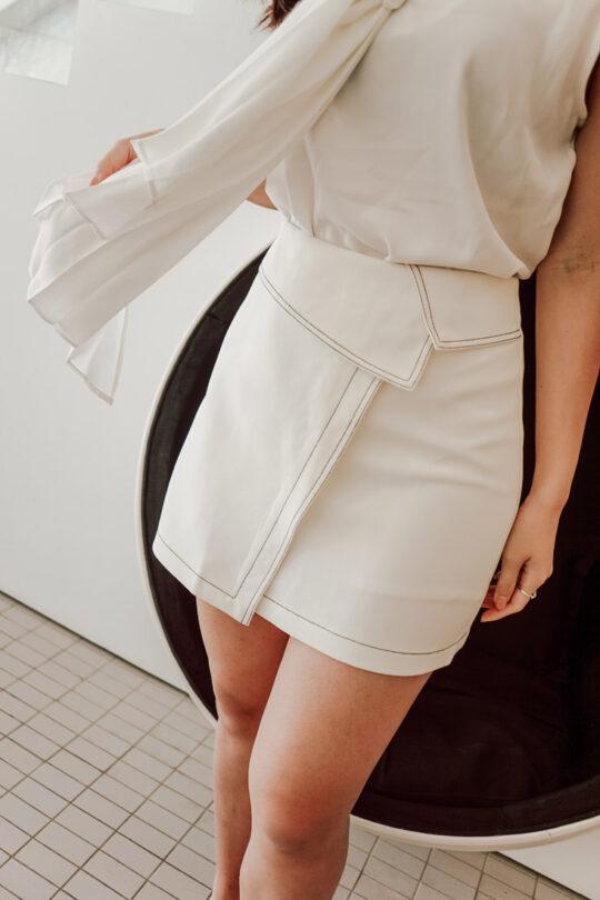 Anna Skirt White 3