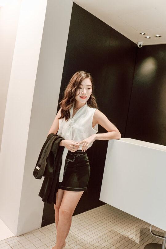 Anna Skirt Black 4