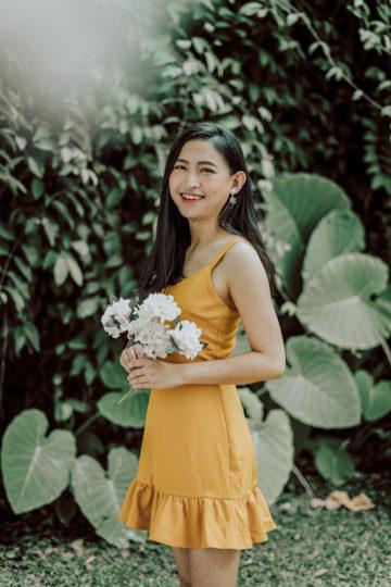 Hong Hong Dress Mustard 10