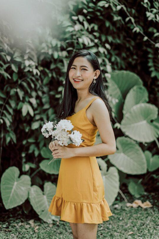 Hong Hong Dress Mustard 6
