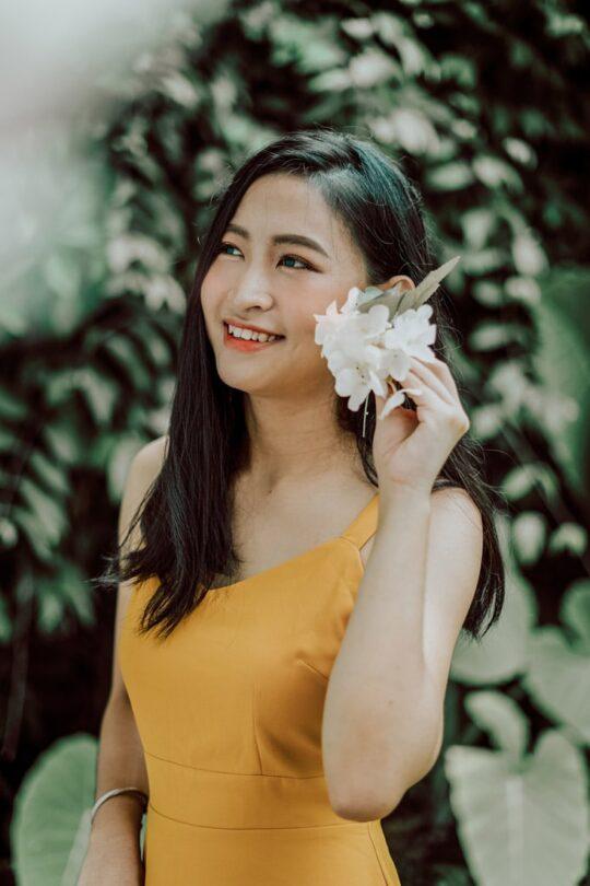 Hong Hong Dress Mustard 7