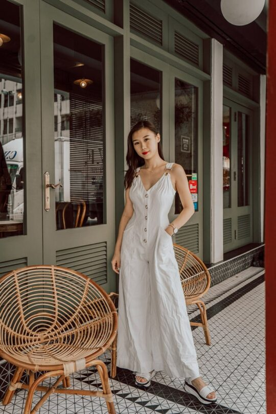 Riey Playsuit White 4