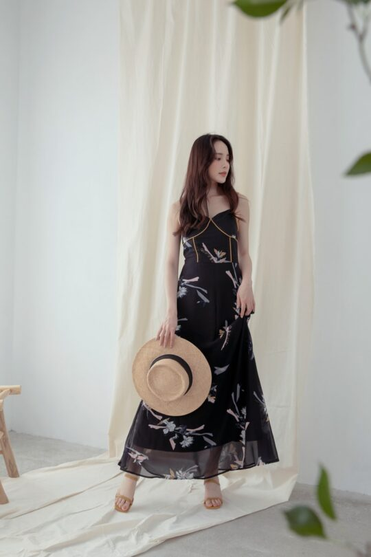 Moonhye Dress Black 9