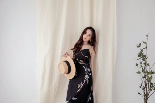 Moonhye Dress Black 4