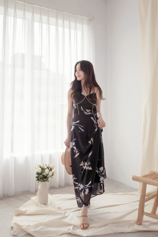 Moonhye Dress Black 6