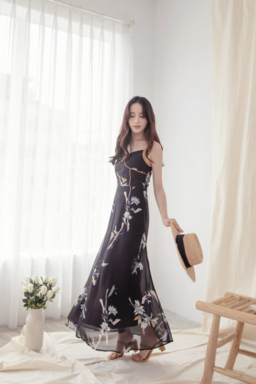 Moonhye Dress Black 14