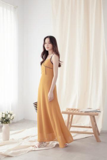 Moonhye Dress Mustard 15