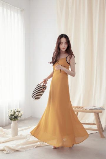 Moonhye Dress Mustard 16