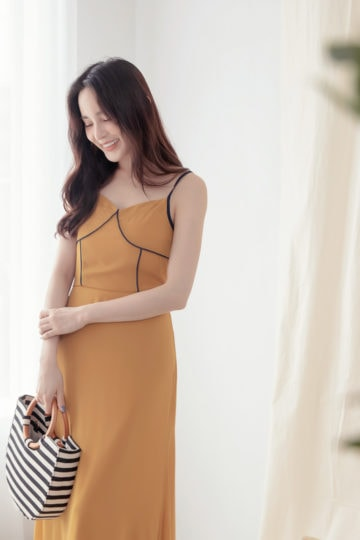 Moonhye Dress Mustard 17
