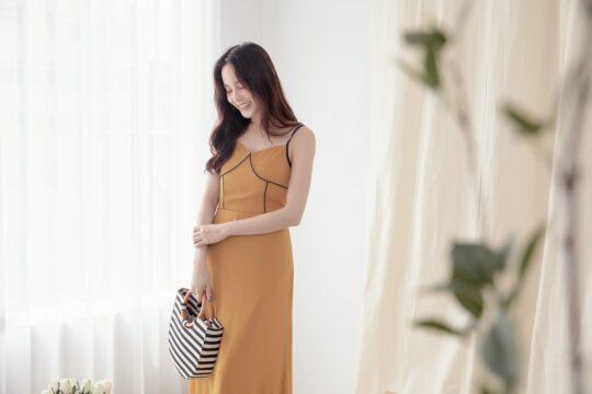 Moonhye Dress Mustard 10
