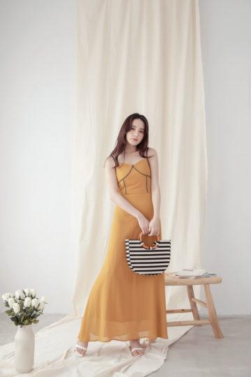 Moonhye Dress Mustard 12