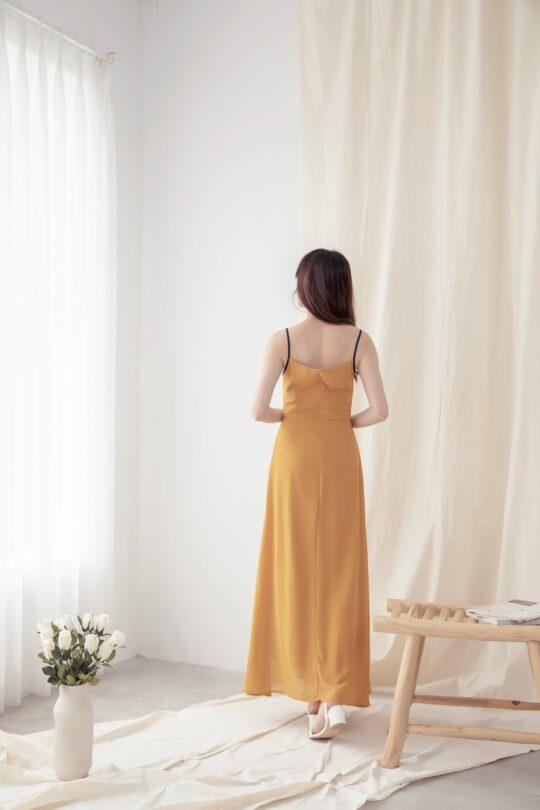 Moonhye Dress Mustard 7