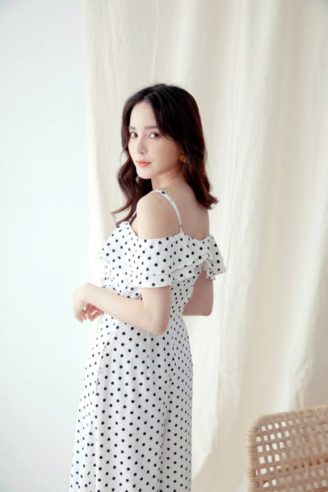 Elise Playsuit in Polkadot 13