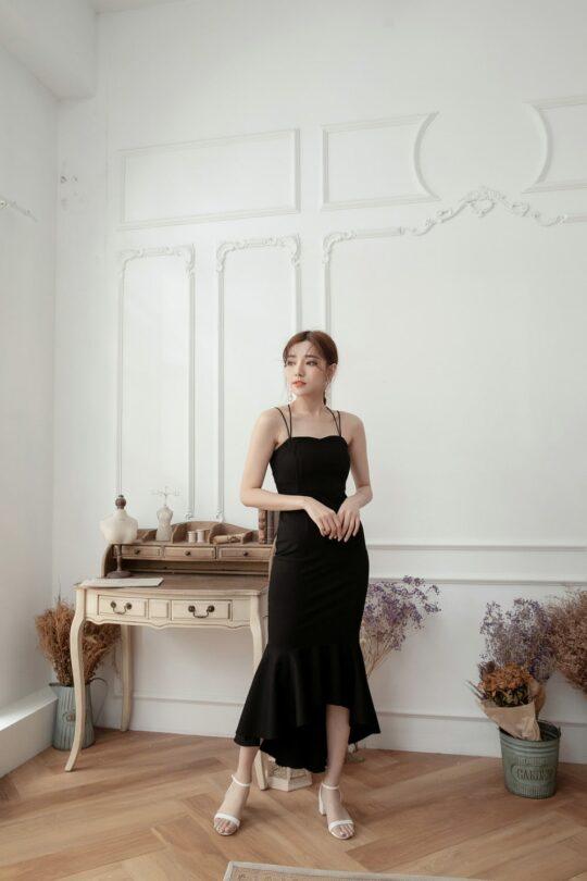 Eve Mermaid Dress Black(Backorder) 5
