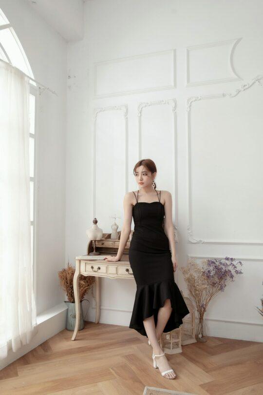 Eve Mermaid Dress Black(Backorder) 4