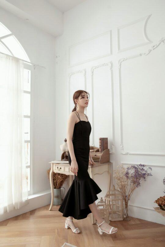 Eve Mermaid Dress Black(Backorder) 6
