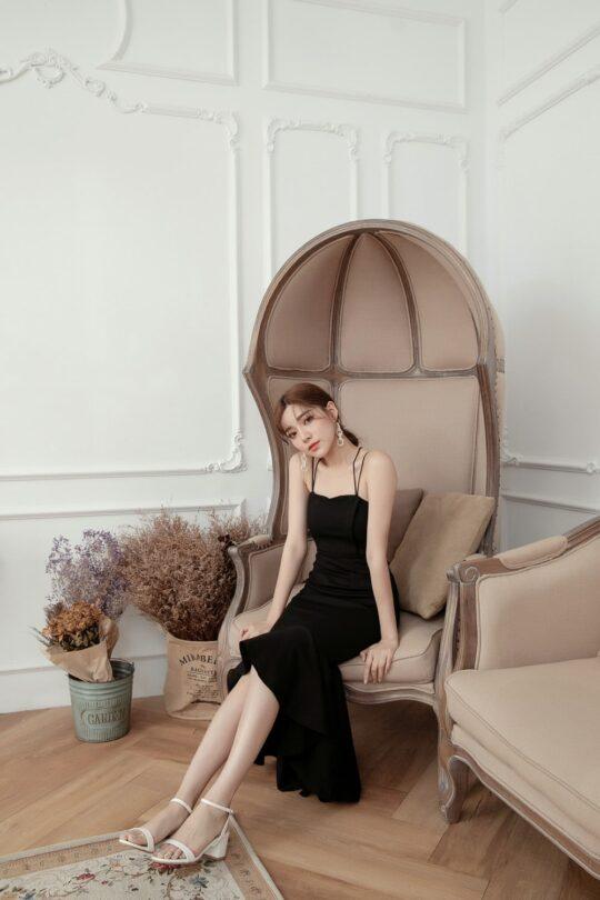 Eve Mermaid Dress Black(Backorder) 7