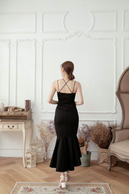 Eve Mermaid Dress Black(Backorder) 8