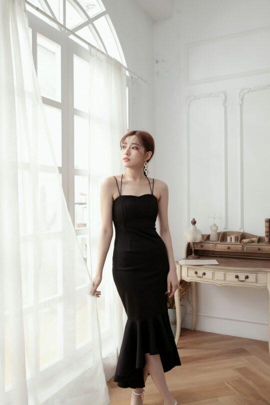 Eve Mermaid Dress Black(Backorder) 3